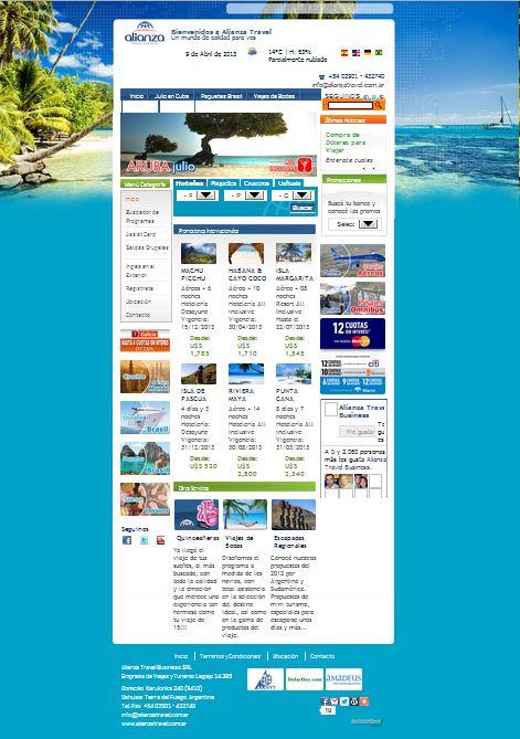 www.alianzatravel.com.ar